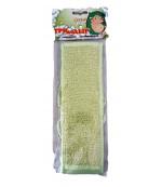 ТриоДодыр мочалка для тела, Зеленая, 1шт (92429)