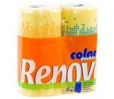 Renova бумажные полотенца, Colors, 2 рулона, 2 слоя, 40 отрывов в рулоне (02882)