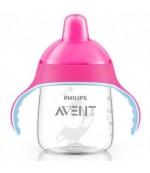 Philips AVENT поильник-чашка с носиком, Розовый, 260мл, 12+месяцев, 1шт (93242)