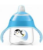 Philips AVENT поильник-чашка с носиком, Синий, 200мл, 6+месяцев, 1шт (61054)