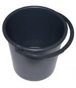 Ведро хозяйственное, пластмассовое, 5Л, 1шт (93396)