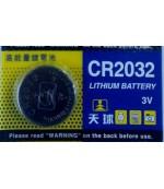 TMMQ батарейки литиевые CR2032, 1шт (95641)