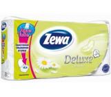Zewa deluxe туалетная бумага Ромашка, 8 рулонов, 3 слоя, 145 отрывов в рулоне (55337)