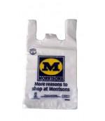 Пакеты полиэтиленовые с ручкой Morrisons, 30х40см 65шт (93358)