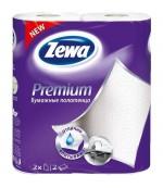 Zewa Premium Decor бумажные полотенца, c цветочками, 2 рулона, 2 слоя, 57 отрывов в рулоне (62146)