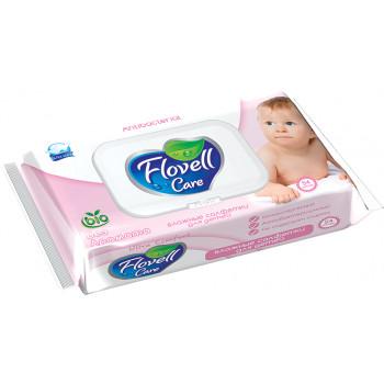 Flovell Care влажные салфетки для детей, 54шт (90181)