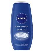 Nivea гель-уход для душа, питание и забота, с компонентами Nivea Cream, 250 мл (03543)