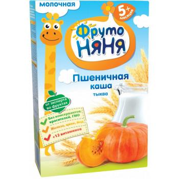 Фруто Няня каша молочная пшеничная с тыквой, с 5 месяцев, 200гр (04310)