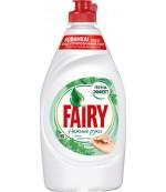 Fairy средство для мытья посуды, Нежные руки, Чайное дерево и Мята, 450мл (16959)