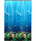 Shower Curtain штора для ванной, полиэстер, 180x180см, 1шт, 370гр (57074)
