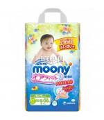 Moony трусики #3 M, для девочек, 5-9кг, 58шт (83173)
