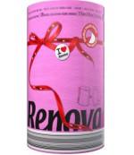 Renova бумажные полотенца  Fuchsia, 1 рулон, 2 слоя, 120 отрывов в рулоне (20879)