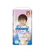 Moony трусики #4 L, для мальчиков, 9-14, 44шт (83418)