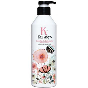 Kerasys Lovely & Romantic парфюмированный шампунь для поврежденных волос с секущими концами, 600мл (92708)