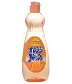 Rocket Soap Fresh средство для мытья посуды, овощей и фруктов с ароматом Апельсина, 600мл (01437)