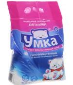 Умка детский универсальный мыльный порошок, гиппоалергенный, 4кг (22146)