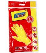 Бонус Всегда Плюс универсальные перчатки, L, 1пара (01190)