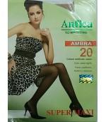 Anfica Ambra SUPER Maxi капроновые колготки, Телеснового цвета, 1шт (01934)