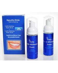 Beautiful Smile набор для отбеливания зубов, очищающая пенка+отбеливающая пенка, 2шт (96933)