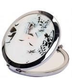 Карманное зеркало, круглое, 7см,  1шт (03235)