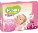 Huggies ultra comfort гига #3 подгузники 5-9 кг, для девочек, 94шт (43666)