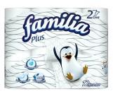Familia Plus туалетная бумага, 12 рулонов, 2 слоя, 150 отрывов в рулоне (00198)