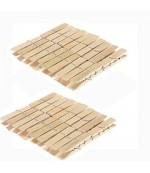 Bamboo Peg Деревянные прищепки, 20шт (59175)