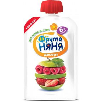 Фруто няня сашет, Десерт, с 6 месяцев, 90гр (07830)