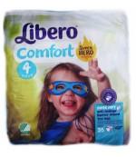 Libero comfort #4 подгузники, 7-11 кг, 26шт (86067)
