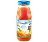 Gerber сок яблоко, морковь с мякотью, с 5 месяцев 175мл (00267)