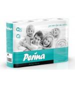 Perina perfect white туалетная бумага, 12 рулонов, 3 слоя, 150 отрывов в рулоне (00268)