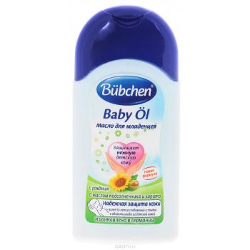 Bubchen масло для младенцев, с маслом Каритэ и Подсолнечника, 400мл (11428)