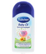 Bubchen масло для младенцев, с маслом Каритэ и Подсолнечника, 200мл (81720)