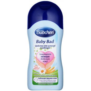 Bubchen средство для купания младенцев, с протеином Пщеницы и с экстрактом Ромашки, 200мл (81850)