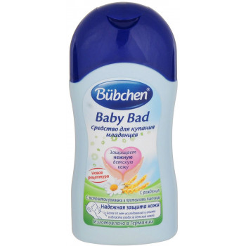 Bubchen детское средство для купания младенцев, 400мл (11435)