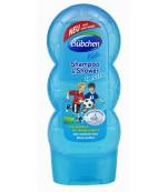 Bubchen Шампунь для мытья волос и тела для детей, Cпорт и удовольствие, 230мл (01201)
