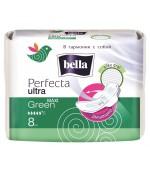 Bella перфекта maxi Green гигиенические прокладки, 5+ капель, 8шт (03525)