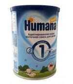 Humana сухая молочная смесь, #1, с 0-6 месяцев, 350г (77867)