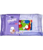 Happy детские салфетки влажные, Alantoin+vit E, 64 шт (21120)