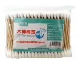 Деревянные ватные палочки 200шт (00082)