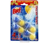 Bref сила актив лимонная свежесть, туалетные блоки для унитаза, 2шт x 4 шарика (56832)