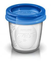 Philips AVENT контейнер для хранения грудного молока, 180 мл, 1шт (76634)