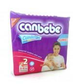 CanBebe comfort dry #2 подгузники, 3-6 кг, 72шт (50143)