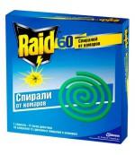 Raid спирали от комаров  (80 часовй) 10 шт (88442)