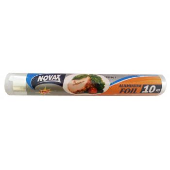 Novax  фольга алюминиевая 10м (09170)