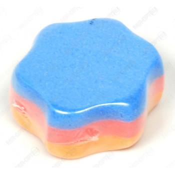 Мелочи Жизни банная детская губка, Cолнышко, 1шт (00573)