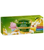 Heinz  детское печенье (с бананом и яблоком) 6 месяцев 160гр (97939)