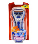 Gillette Fusion бритва+1 сменная кассета, 1шт (74125)