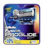 Gillette Fusion Proglide сменные кассеты, 4шт (85514)