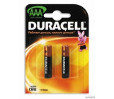 Duracell батарейки мизинчиковые ААА 2шт (58170) (03235)